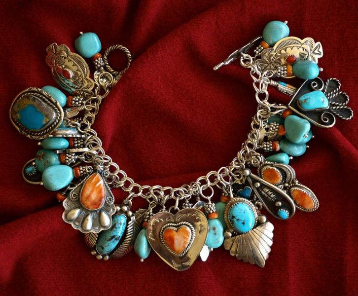Bold, colorful bracelet